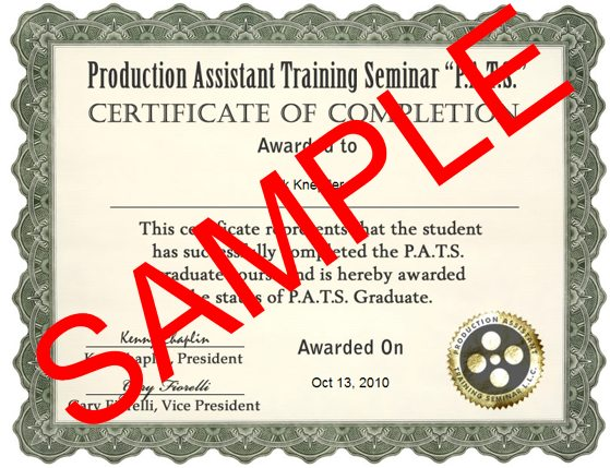 patrainingseminar-online-course-certificate-sample